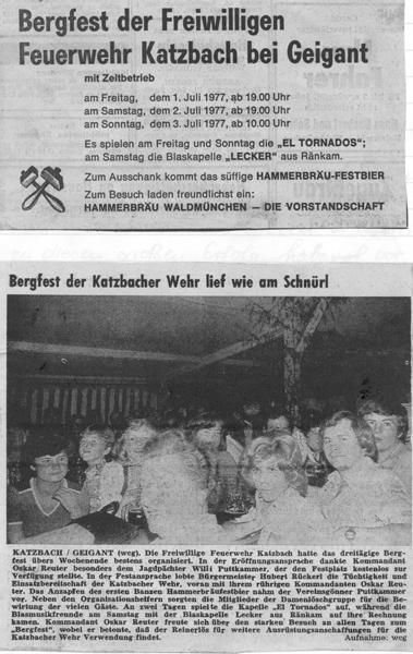 Bergfest 1977