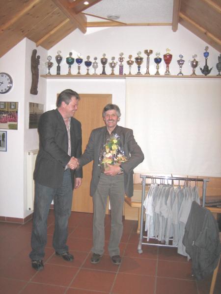 Schirmherr Hallenpokalturnier