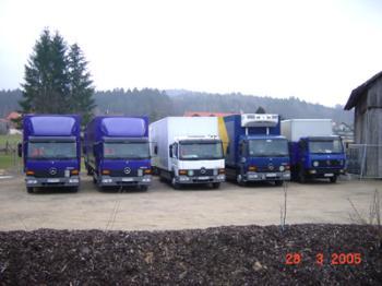 Fahrzeuge Spedition Meier